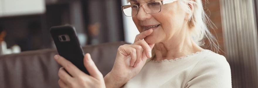 téléphones pour senior